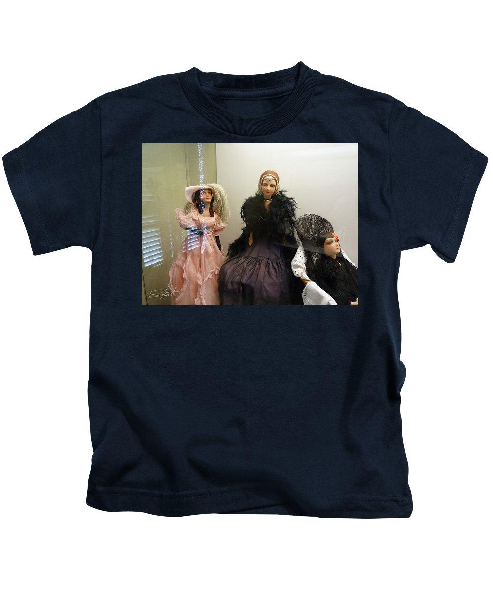 Doll Kids T-Shirt featuring the photograph Carpe Diem by Charles Stuart