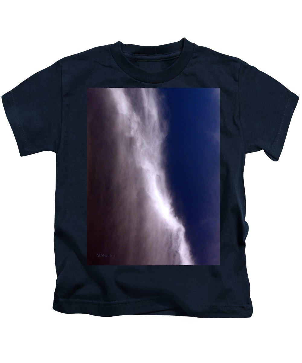 Angels Kids T-Shirt featuring the photograph Celestial Falls by Albert Stewart
