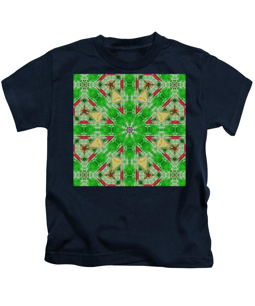 Lori Kingston Kids T-Shirt featuring the digital art Christmas Bells by Lori Kingston
