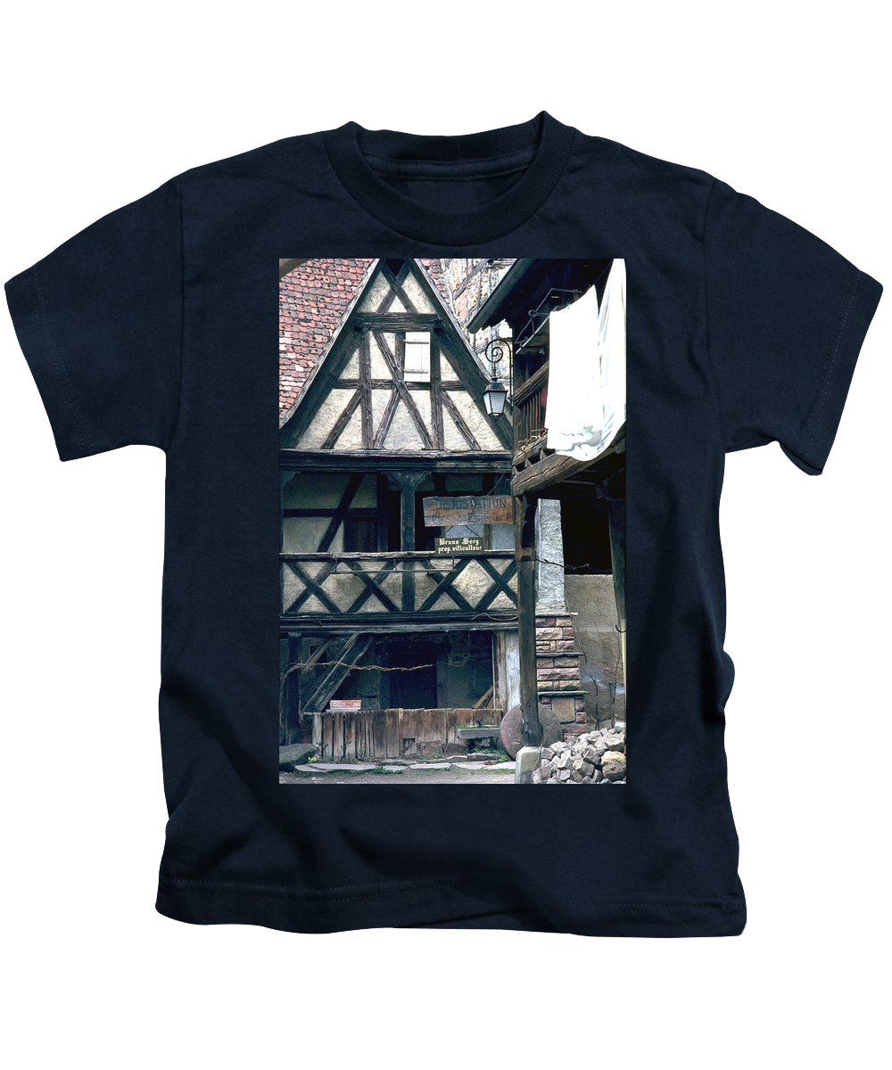 Colmar Kids T-Shirt featuring the photograph Colmar by Flavia Westerwelle
