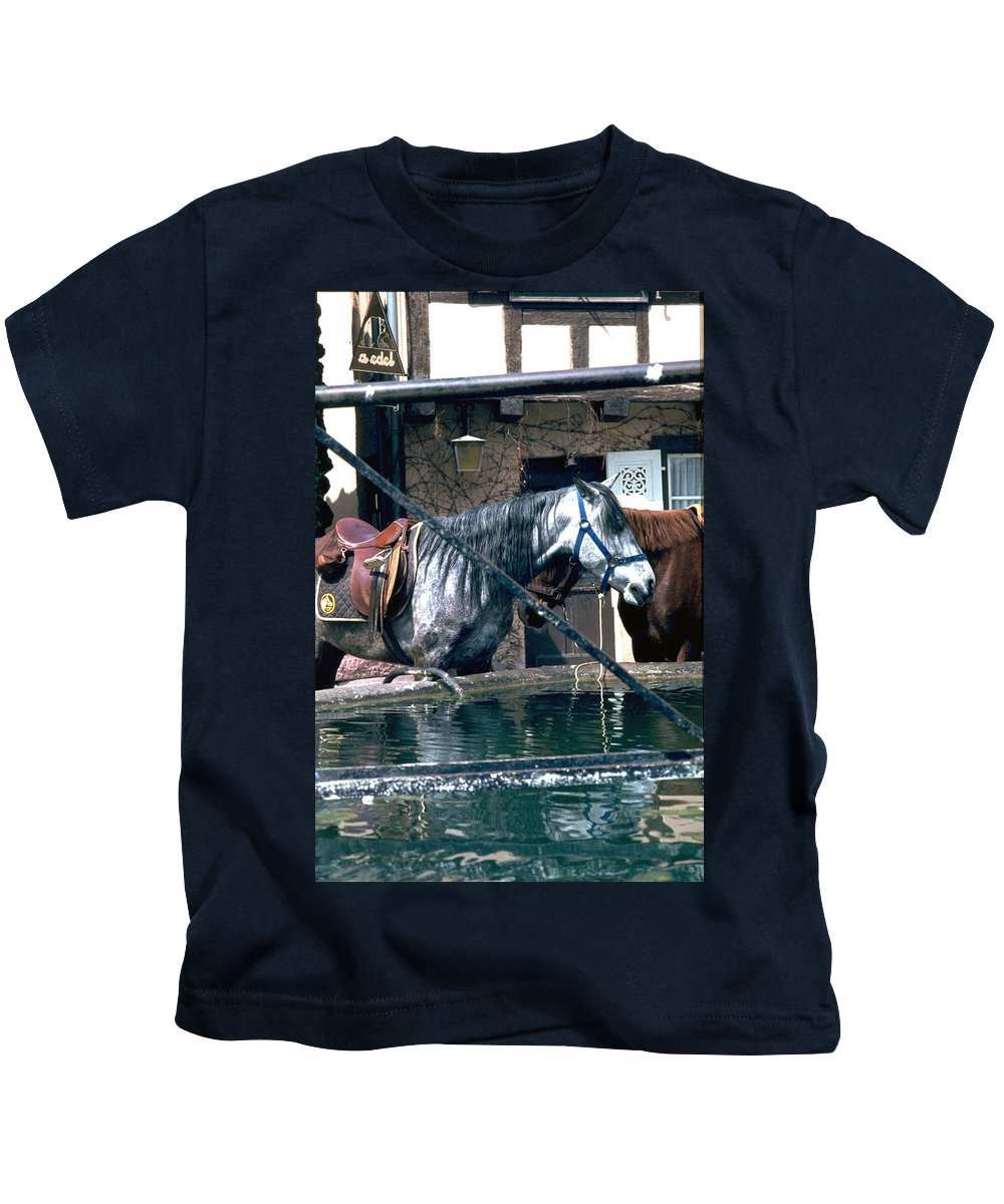 Colmar Kids T-Shirt featuring the photograph Colmar II by Flavia Westerwelle