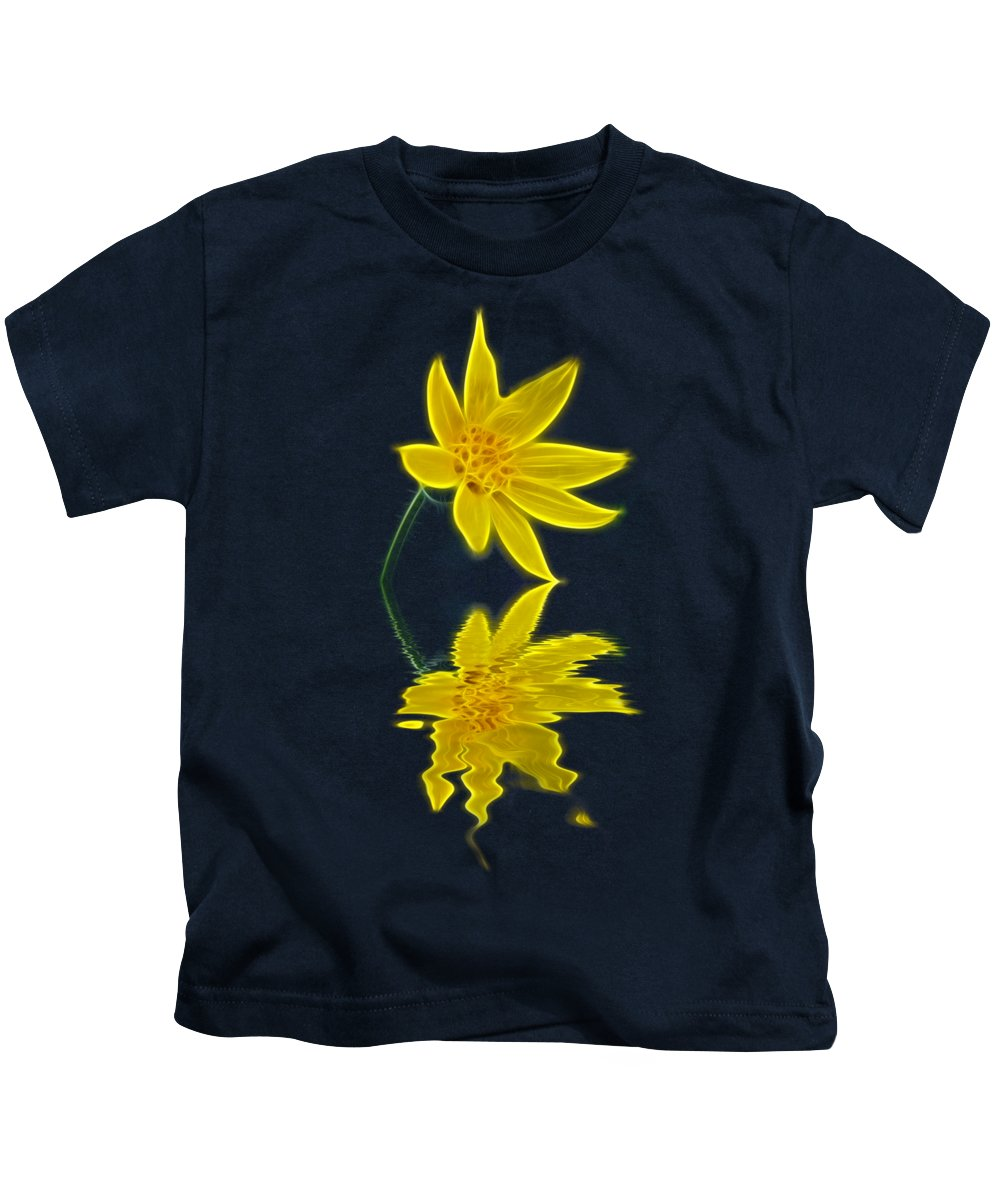 Flower Kids T-Shirt featuring the photograph Colorado Wildflower by Shane Bechler