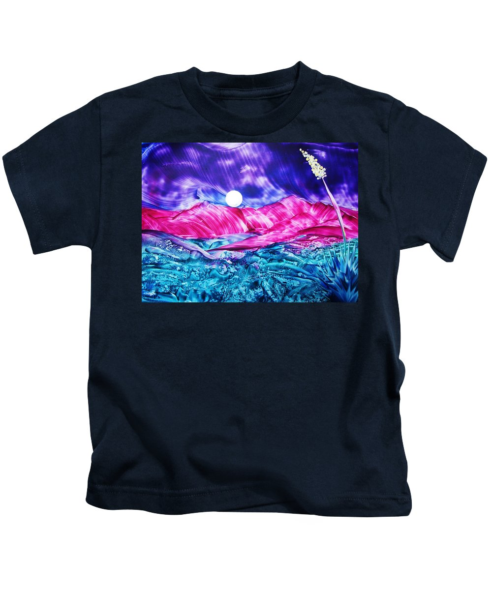 Bold Kids T-Shirt featuring the print Colorful Desert by Melinda Etzold