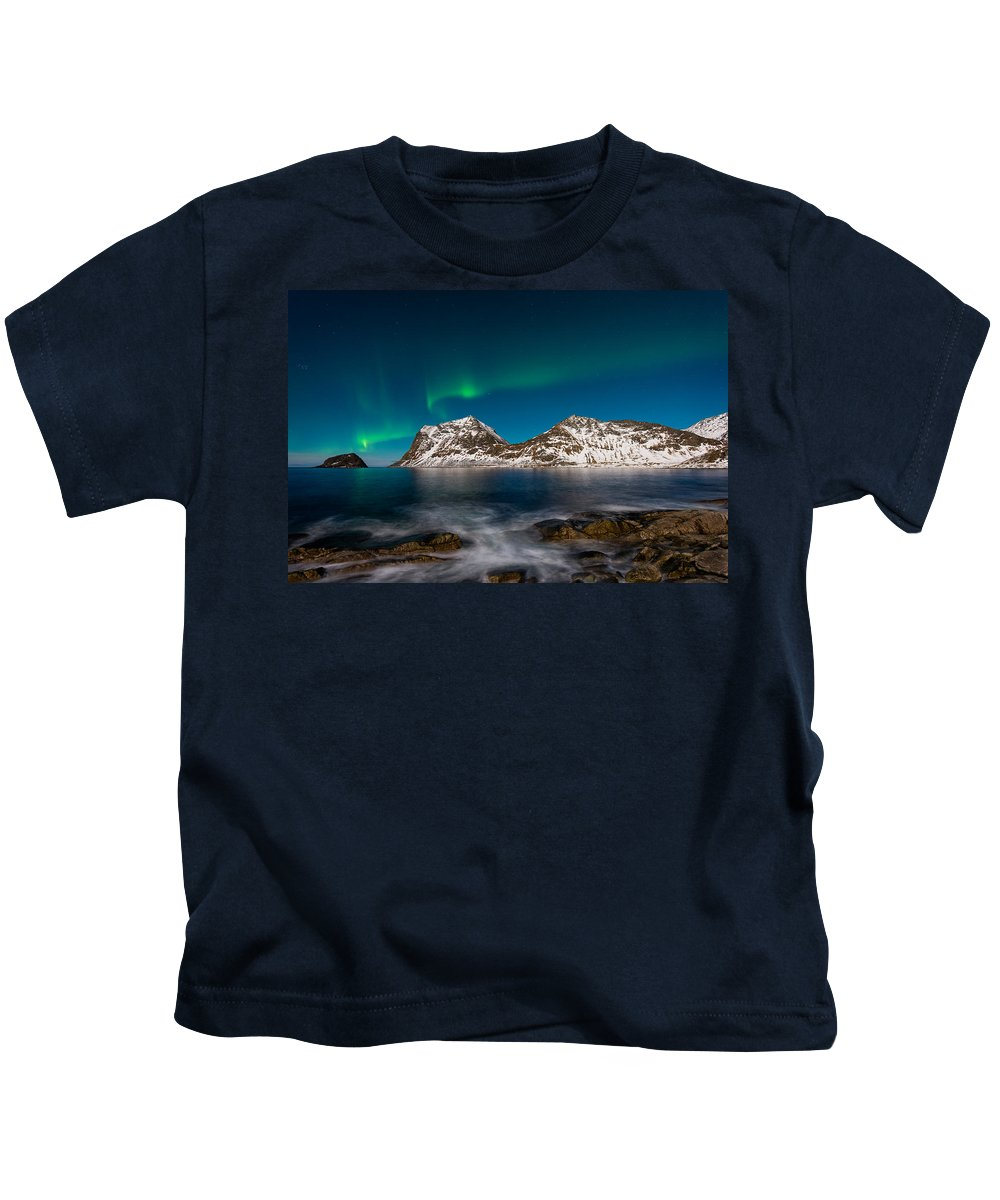 Aurora Kids T-Shirt featuring the photograph Connect The Dots by Michael Blanchette