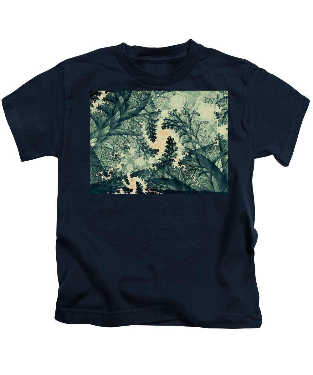 Plant Kids T-Shirt featuring the digital art Cubano Cubismo by Casey Kotas