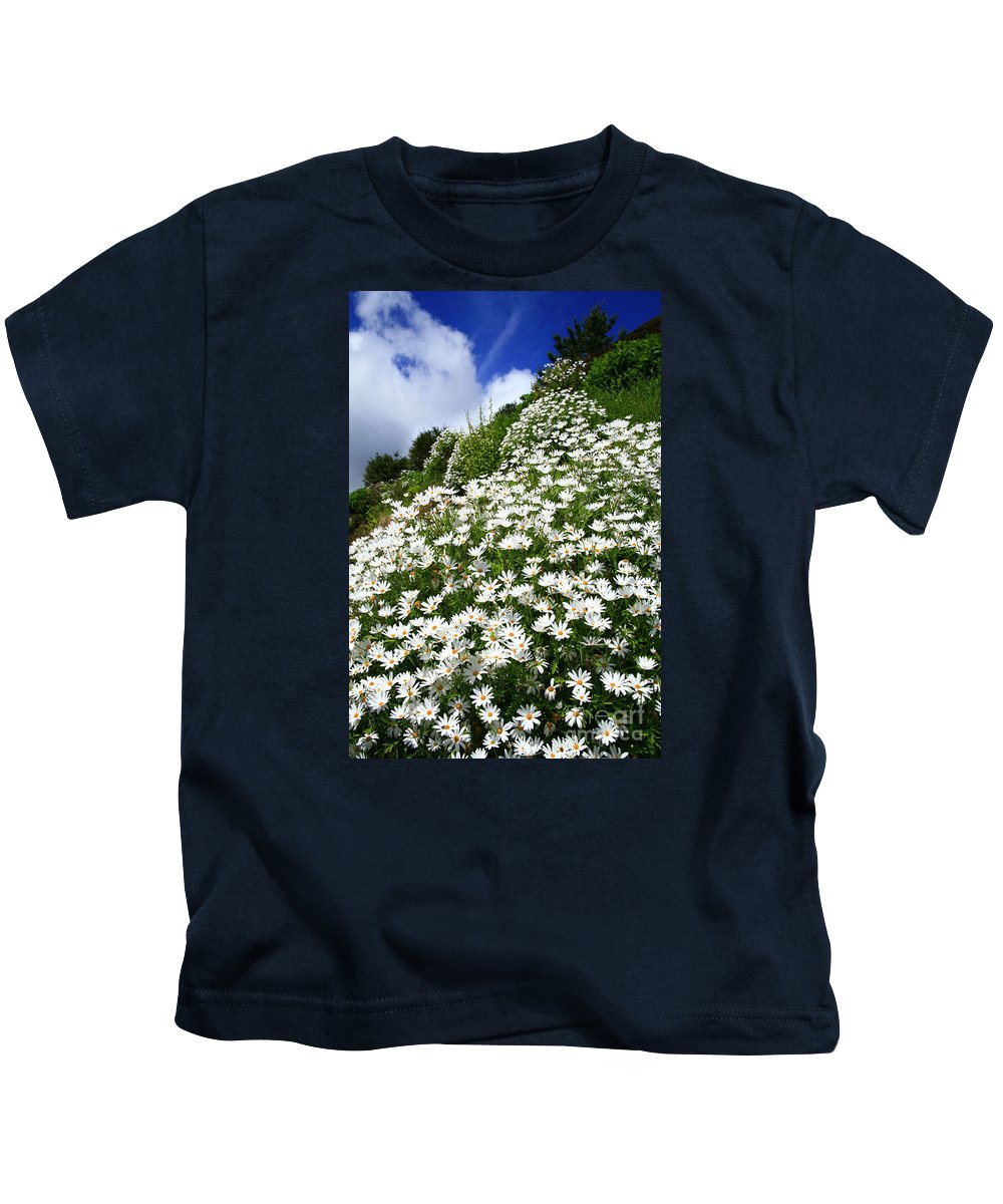 Countryside Kids T-Shirt featuring the photograph Daisies by Gaspar Avila