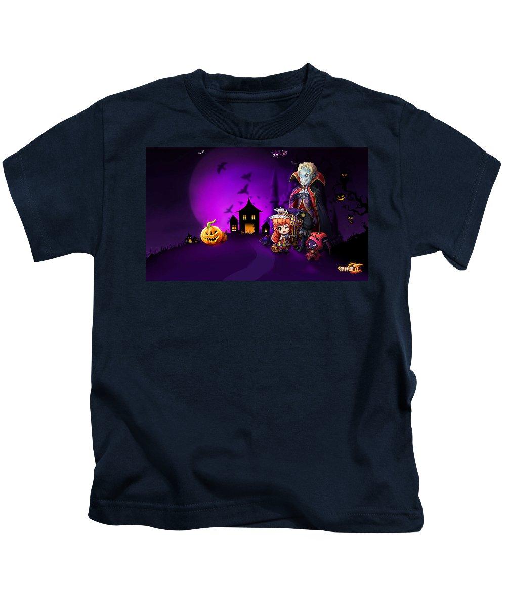 Ddtank Kids T-Shirt featuring the digital art Ddtank by Dorothy Binder