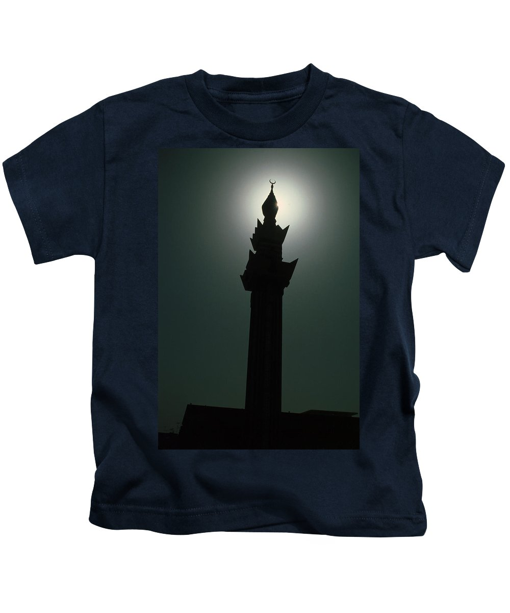 Muslim Kids T-Shirt featuring the photograph Dharhan Minarette by Jerry McElroy