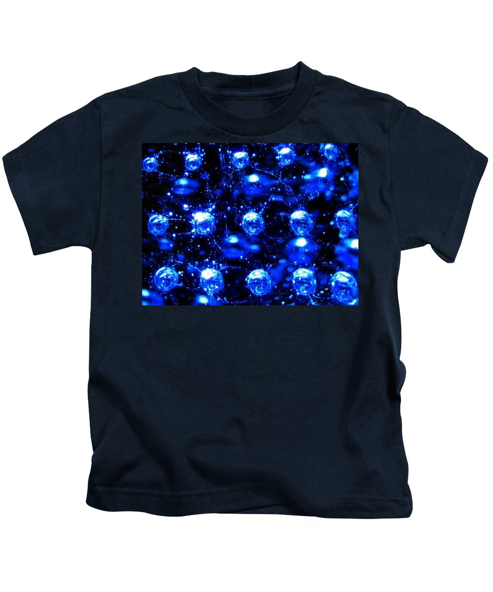 Effervescent Kids T-Shirt featuring the digital art Effervescent by Will Borden