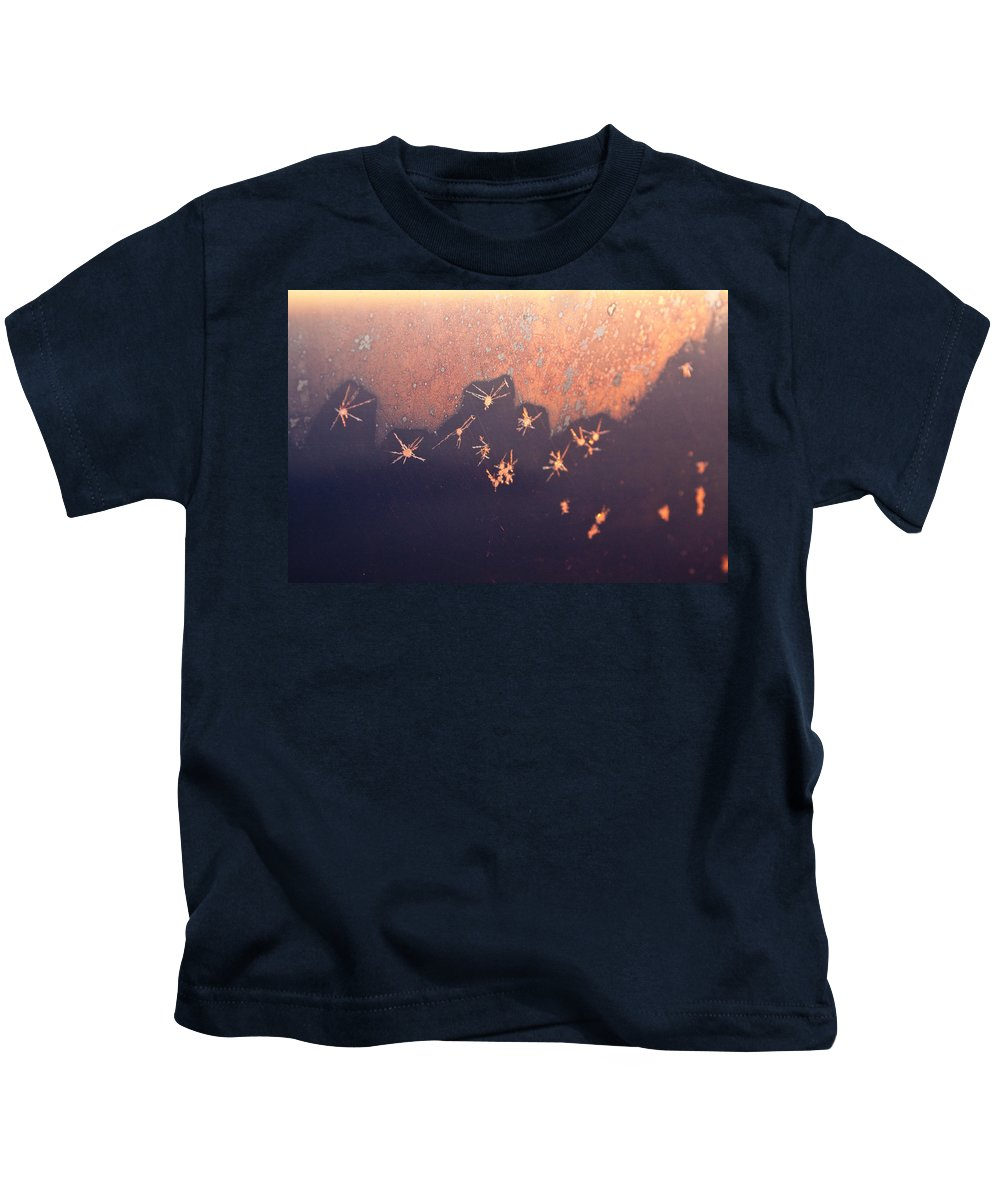 Abstract Kids T-Shirt featuring the photograph Eight Miles High by Casper Cammeraat