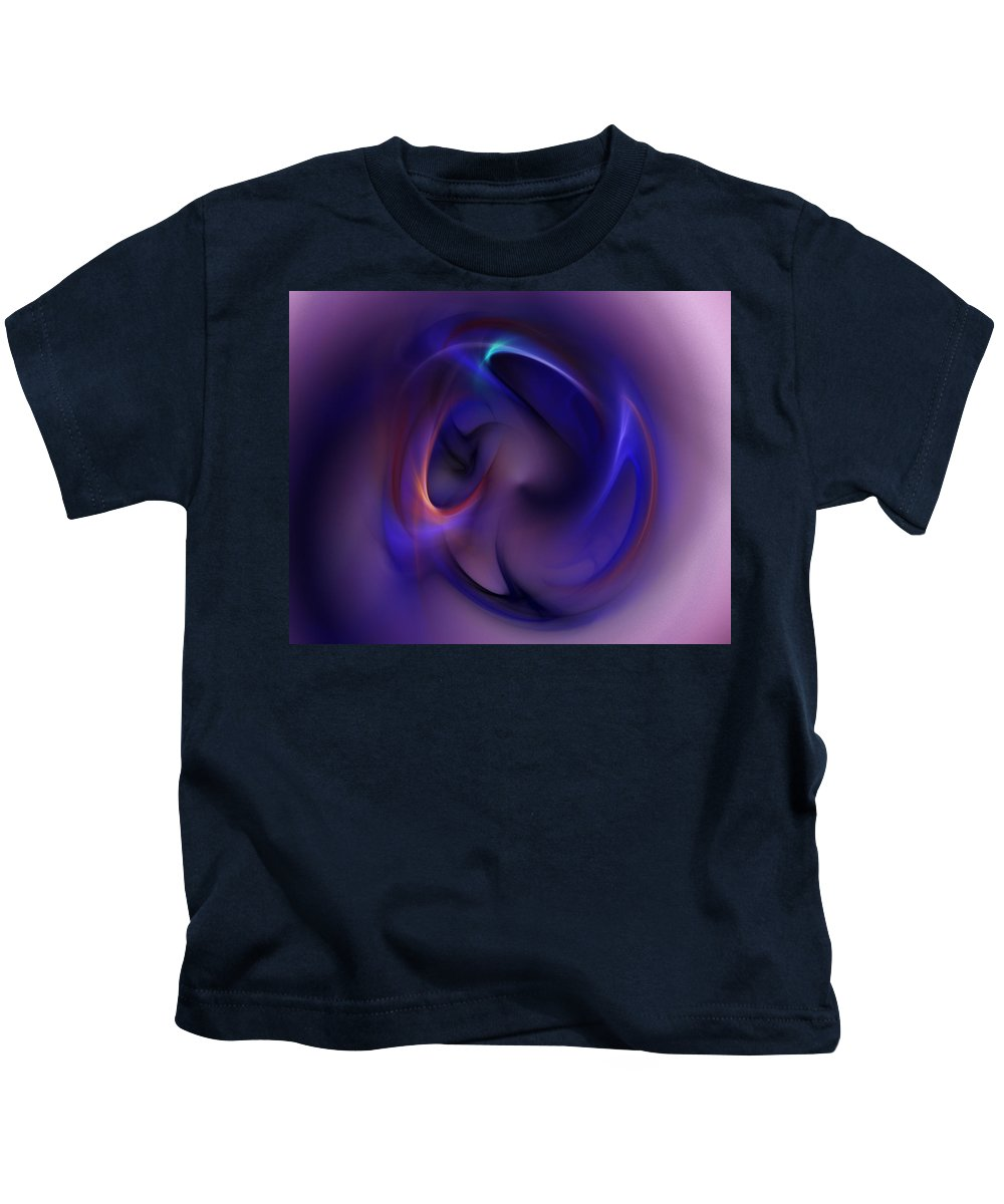 Erotica Kids T-Shirt featuring the digital art Erotica In The Abstract 041311 by David Lane