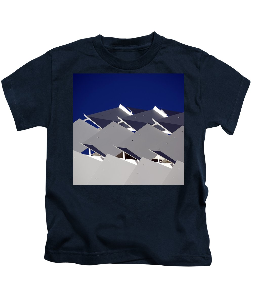 Architecture Kids T-Shirt featuring the photograph Facade by Wayne Sherriff