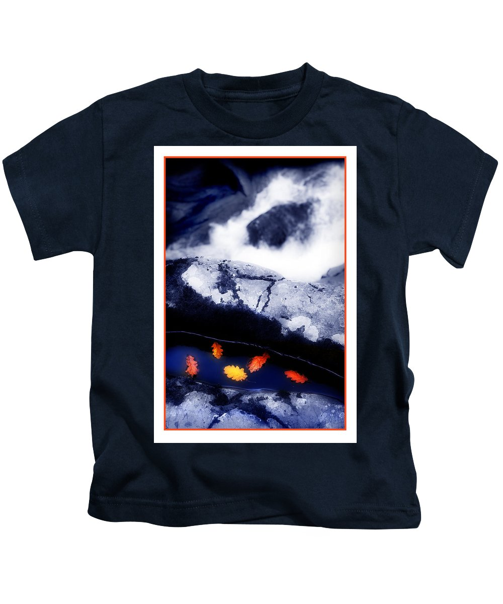 Water Kids T-Shirt featuring the photograph Fall Quintet by Mal Bray