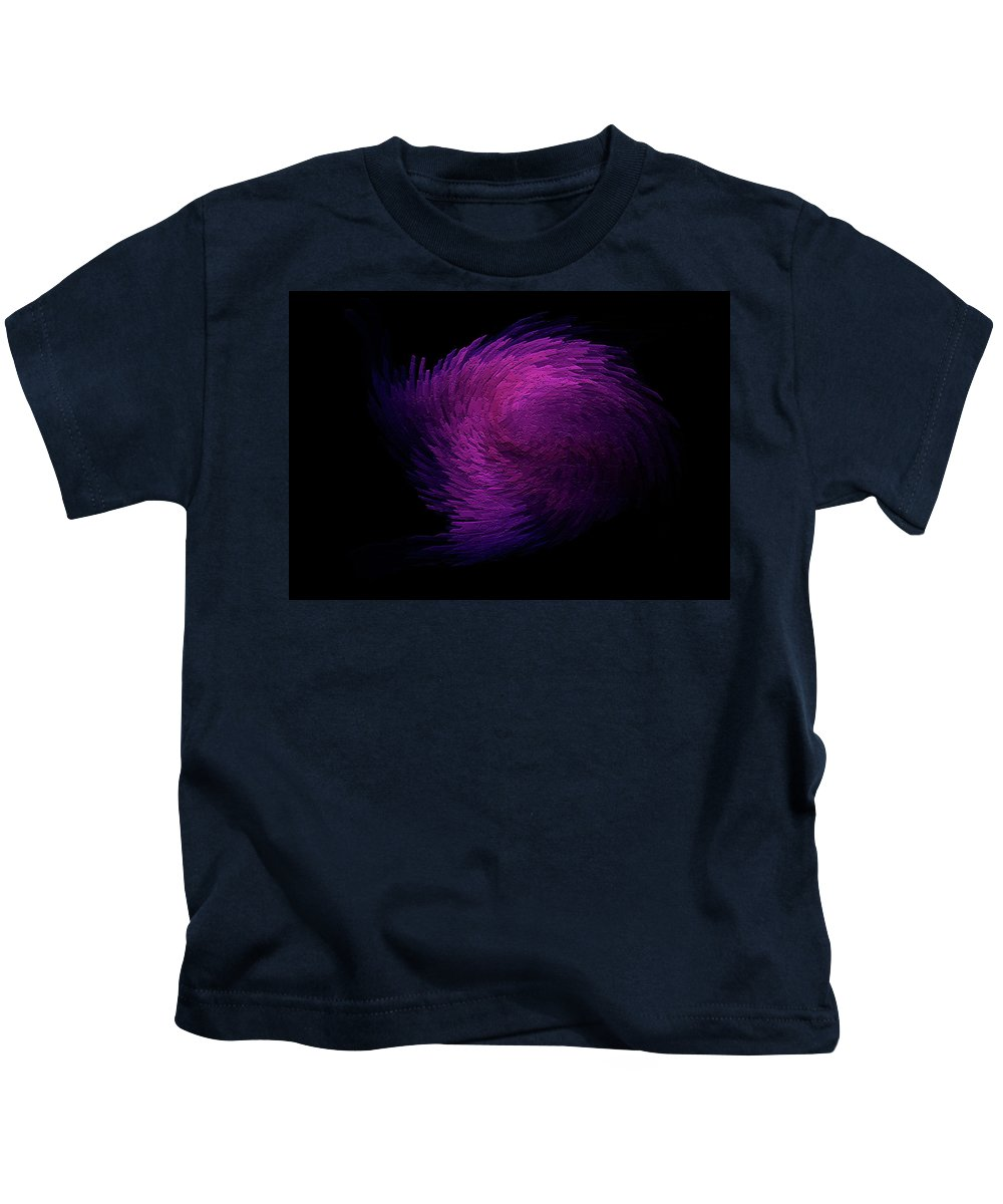 Digitalimage Kids T-Shirt featuring the digital art Feather by Tony Svensson