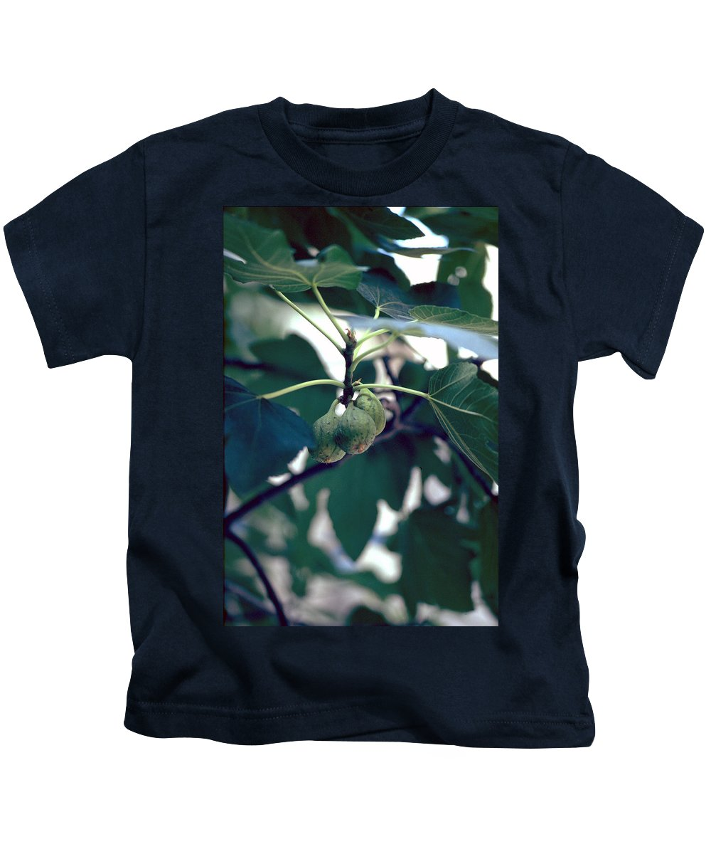Fig Kids T-Shirt featuring the photograph Fig by Flavia Westerwelle