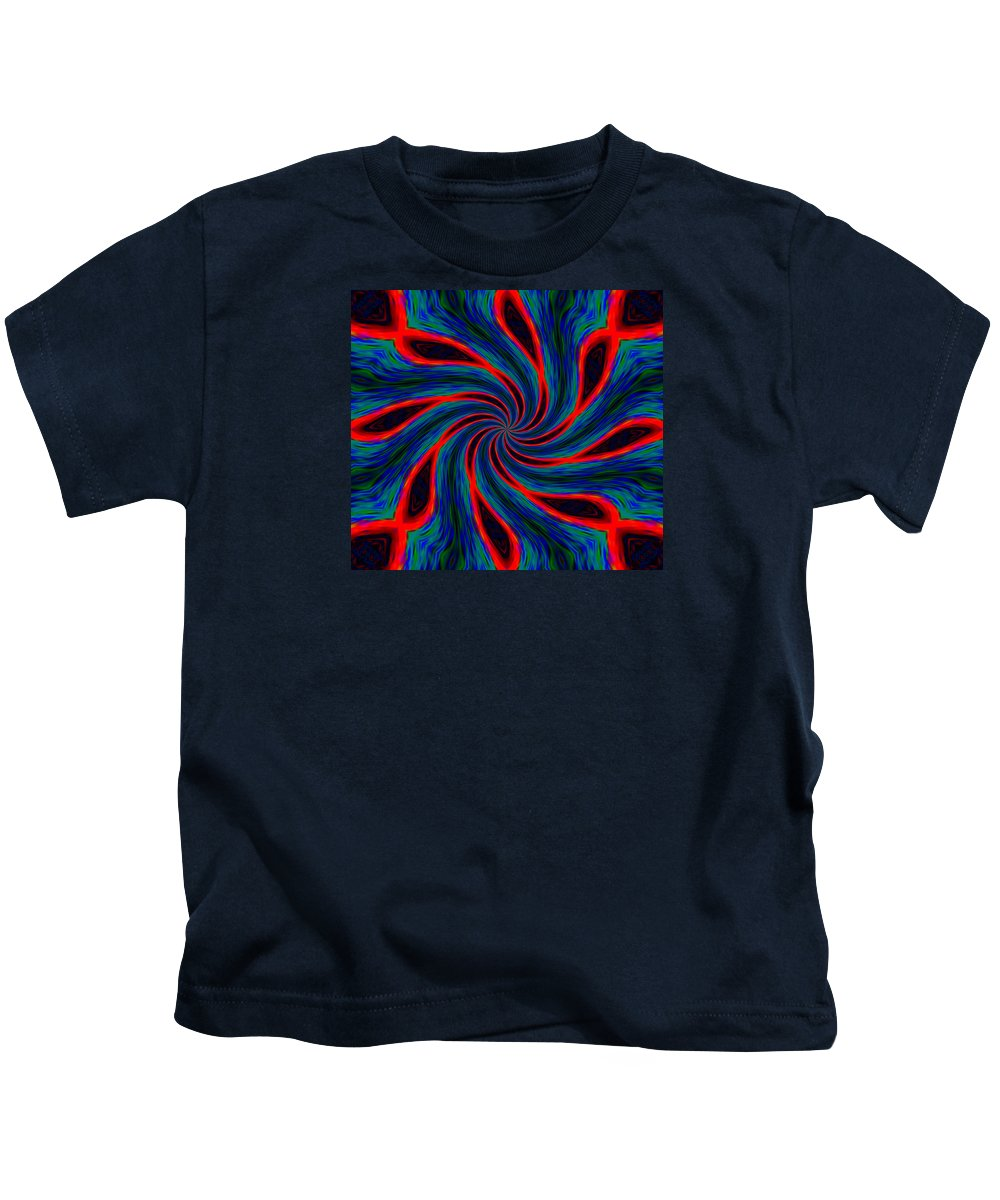 Flag Kids T-Shirt featuring the photograph Flag Of The 48th Naval Illusionist Regiment by James Stoshak