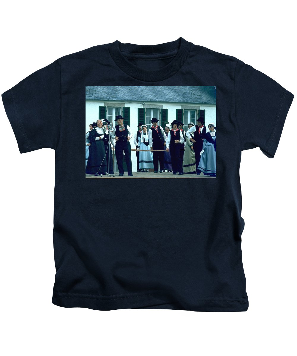 Tradition Kids T-Shirt featuring the photograph Folk Music by Flavia Westerwelle