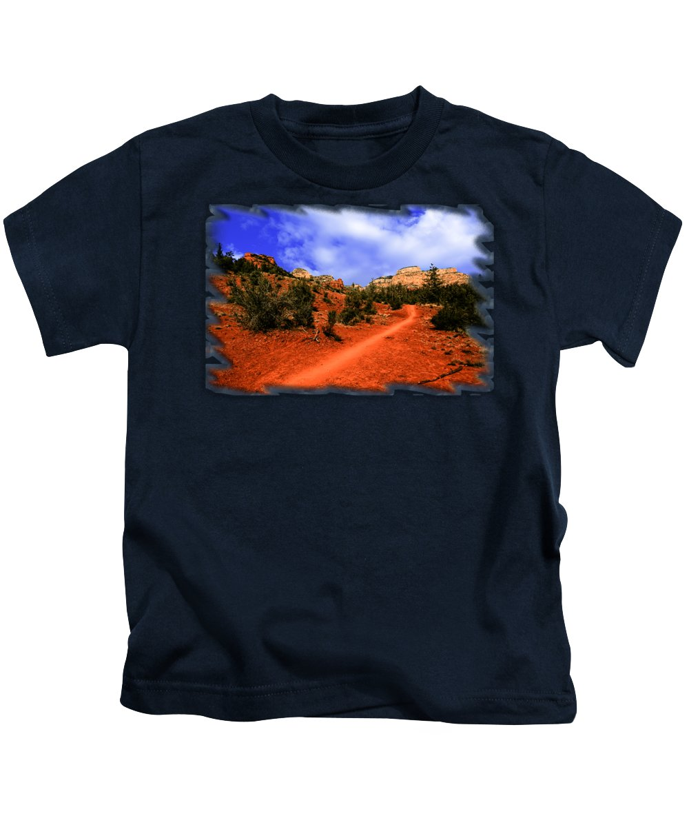 Arizona Kids T-Shirt featuring the photograph Follow Me by Mark Myhaver