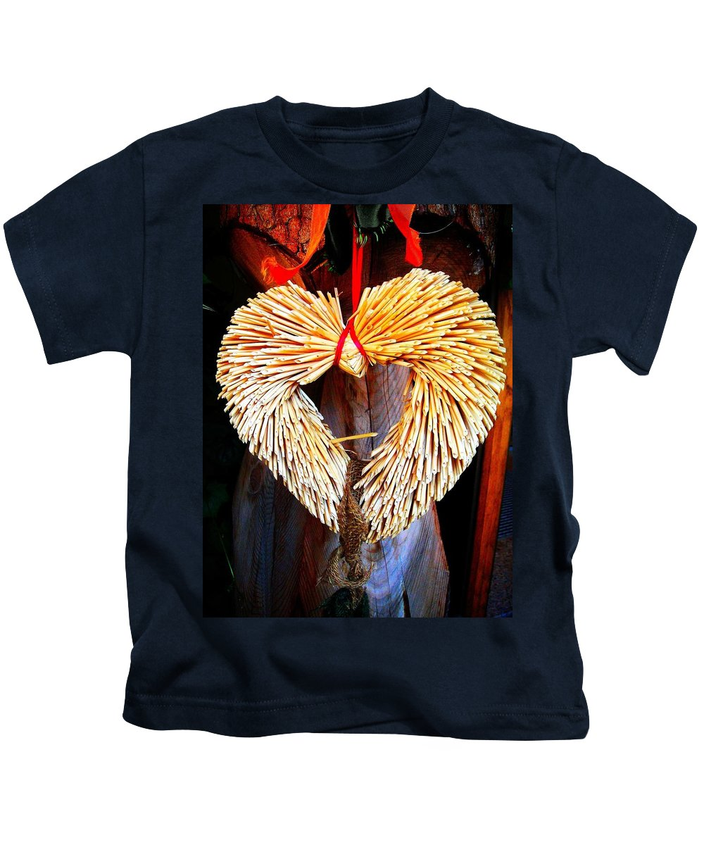 Heart Kids T-Shirt featuring the photograph For You ... by Juergen Weiss