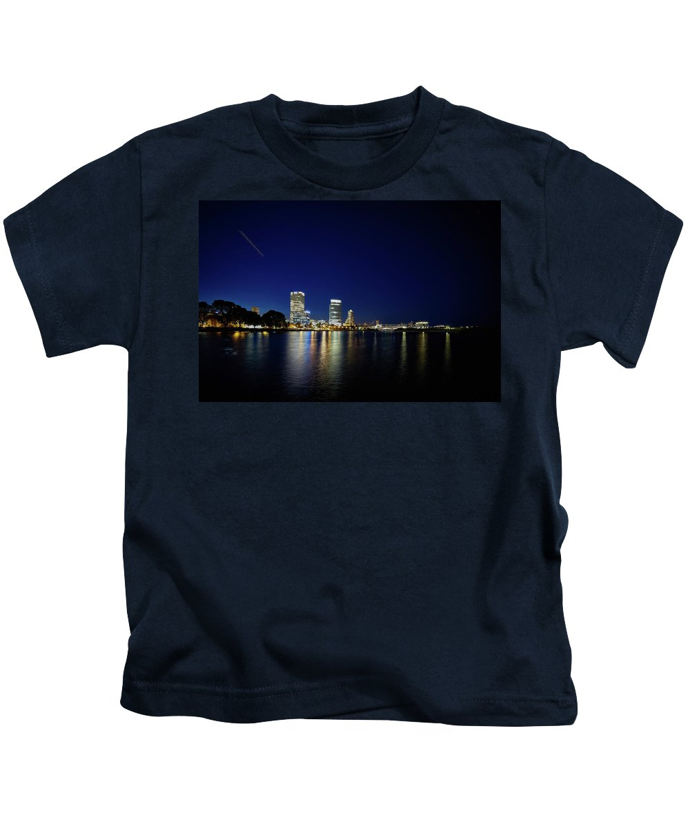 Www.cjschmit.com Kids T-Shirt featuring the photograph From Where I Stand by CJ Schmit