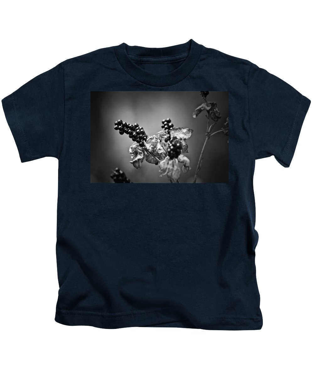 Flower Kids T-Shirt featuring the photograph Gone To Seed Blackberry Lily by Teresa Mucha