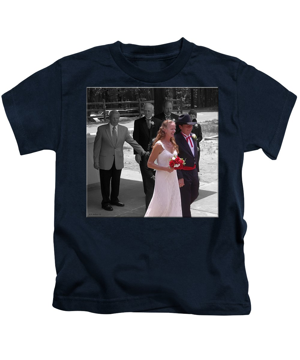2d Kids T-Shirt featuring the photograph Helen And Bob by Brian Wallace