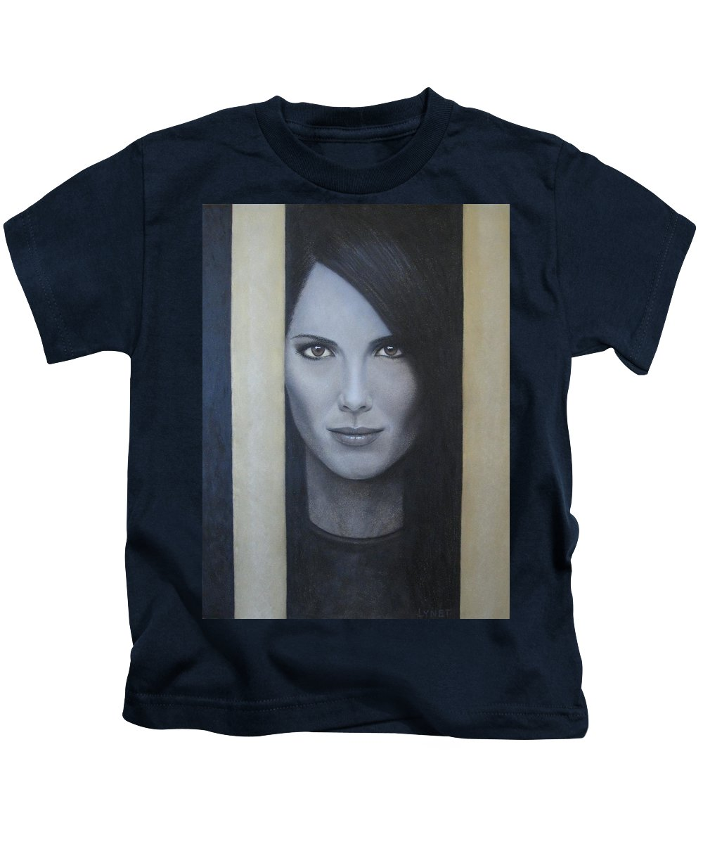 Hope Kids T-Shirt featuring the painting Hope by Lynet McDonald