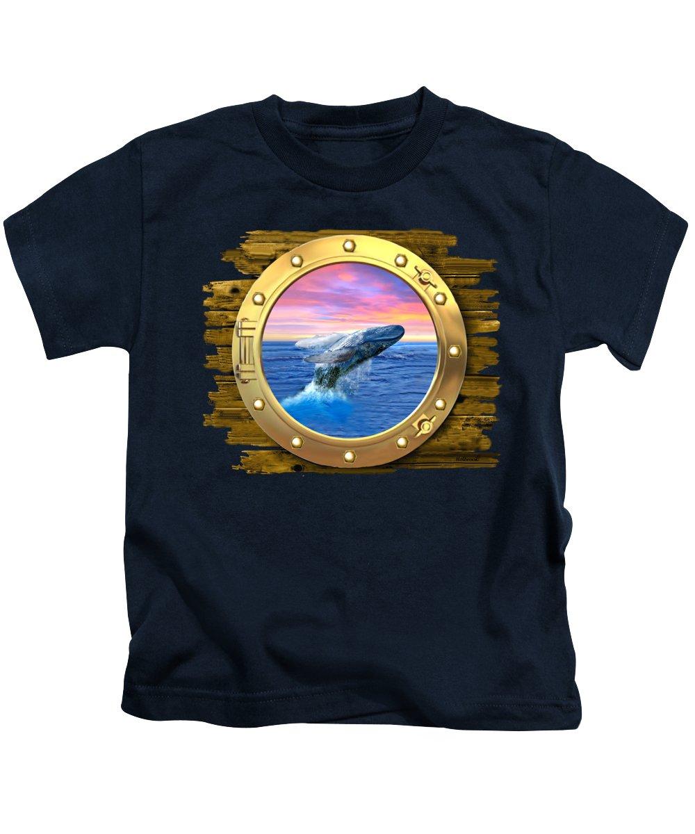 Ocean Sunset Kids T-Shirts
