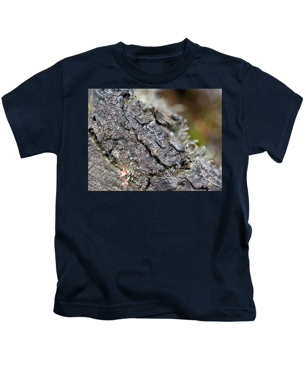 Kids T-Shirt featuring the photograph I Want To Live by Line Gagne