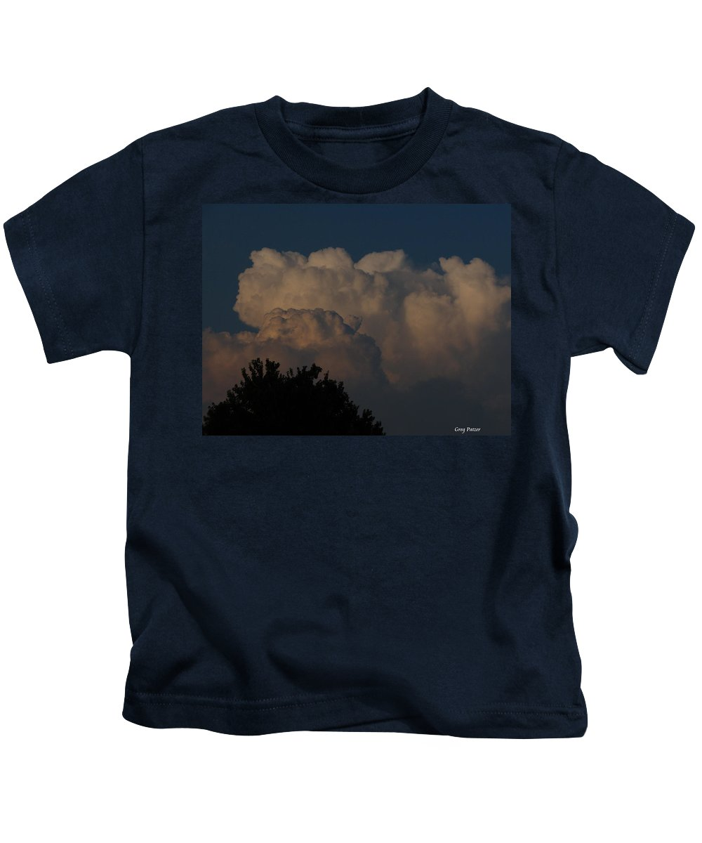 Patzer Kids T-Shirt featuring the photograph I Want To Ride by Greg Patzer