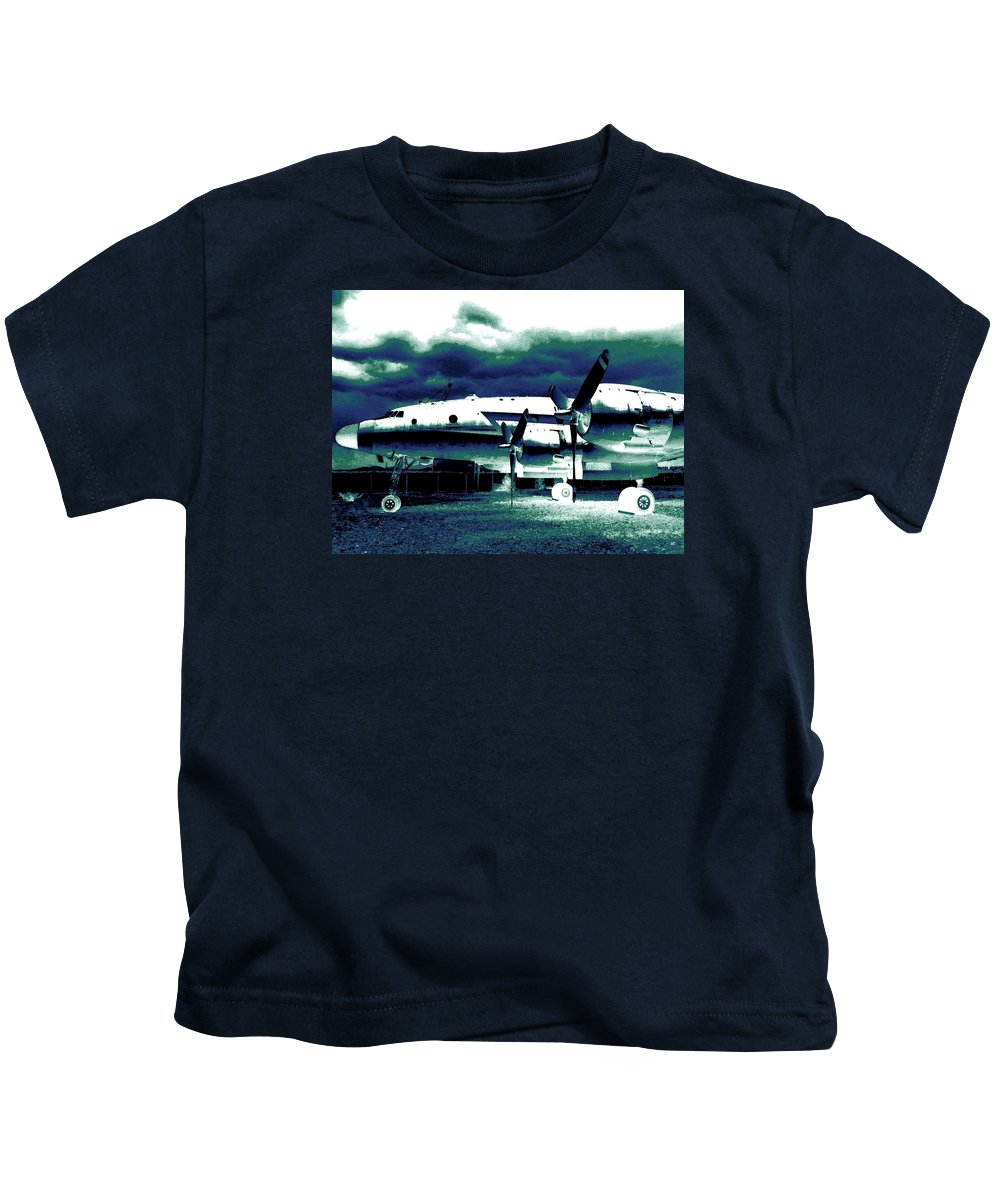Impressions Kids T-Shirt featuring the digital art Impressions 7 by Will Borden
