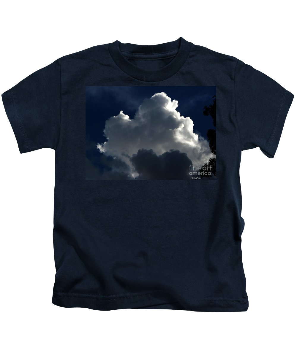Patzer Kids T-Shirt featuring the photograph In Light Of Things by Greg Patzer