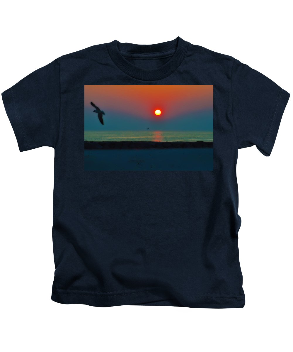 Sunrise Kids T-Shirt featuring the photograph In The Morning Sun by Bill Cannon