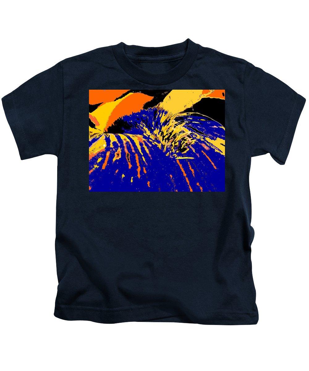 Flower Kids T-Shirt featuring the photograph Iris by Ian MacDonald