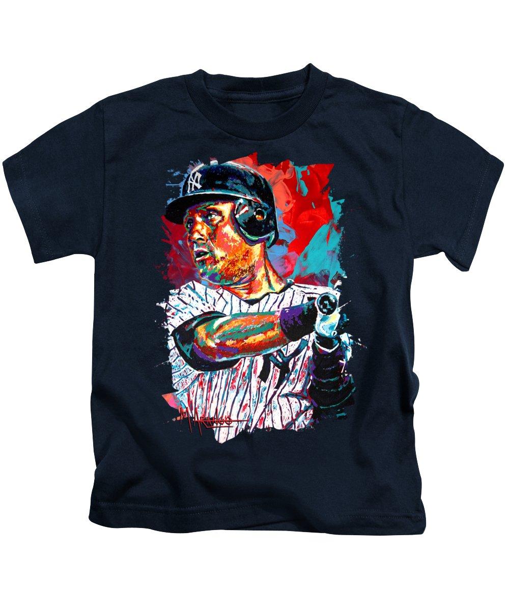 Derek Jeter Kids T-Shirts