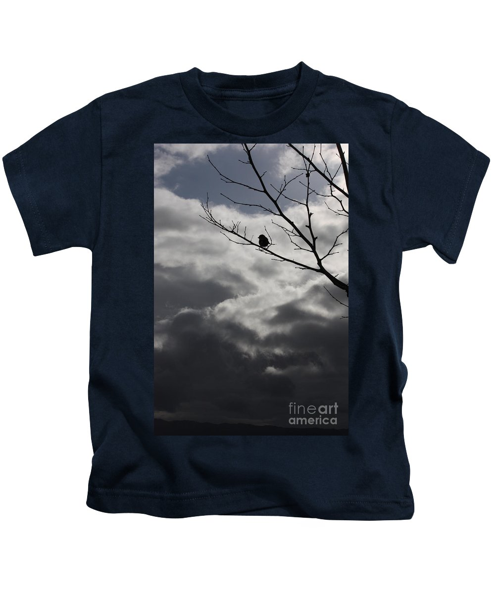 Storm Kids T-Shirt featuring the photograph Keeping Above The Storm by Carol Groenen