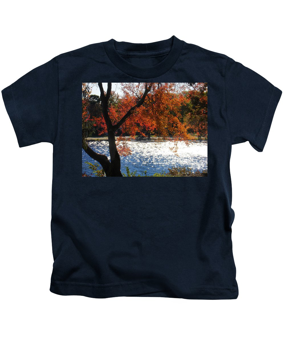 Landscape Kids T-Shirt featuring the photograph Lakewood by Steve Karol