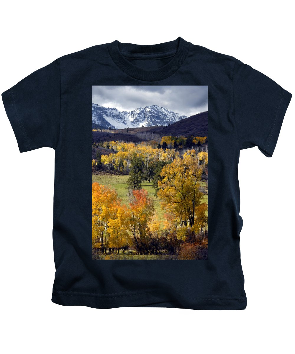 Colorado Kids T-Shirt featuring the photograph Last Light Before The Storm by Dave Mills