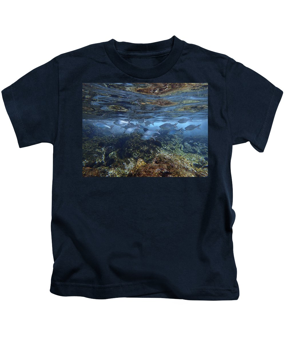 Maui Kids T-Shirt featuring the photograph Layers Of Color by Erin Donalson