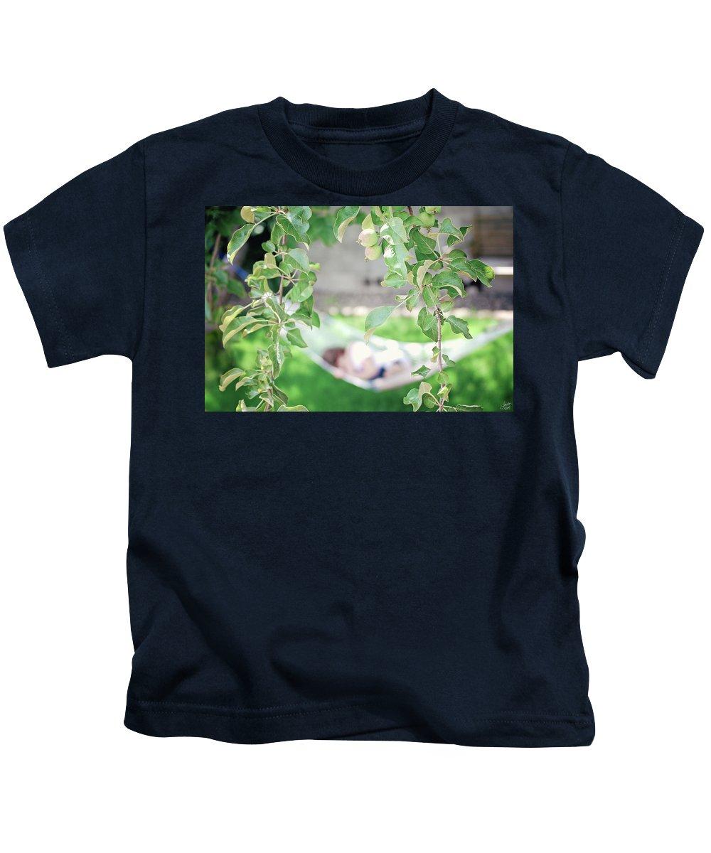 Summer Kids T-Shirt featuring the photograph Lazy Days Of Summer by Lisa Knechtel