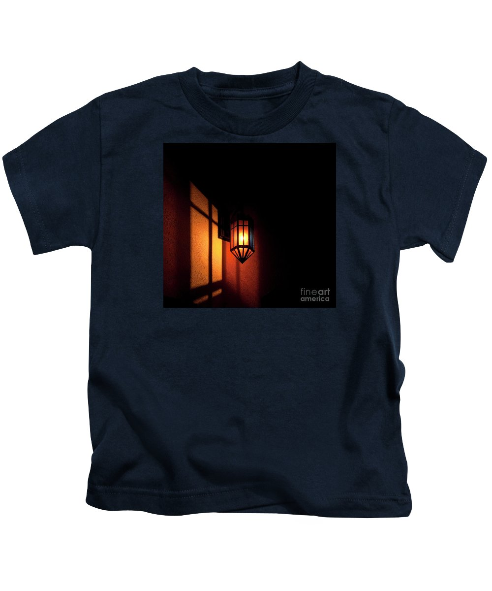 Festblues Kids T-Shirt featuring the photograph Let There Be Light.. by Nina Stavlund
