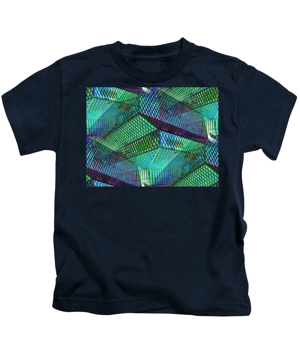Seattle Kids T-Shirt featuring the photograph Library Angles by Tim Allen