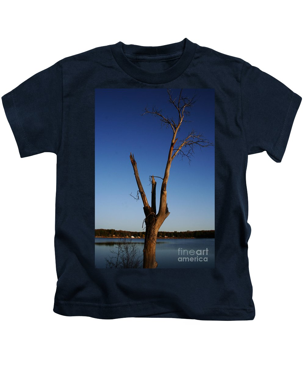 Kids T-Shirt featuring the photograph Living On by Jamie Lynn