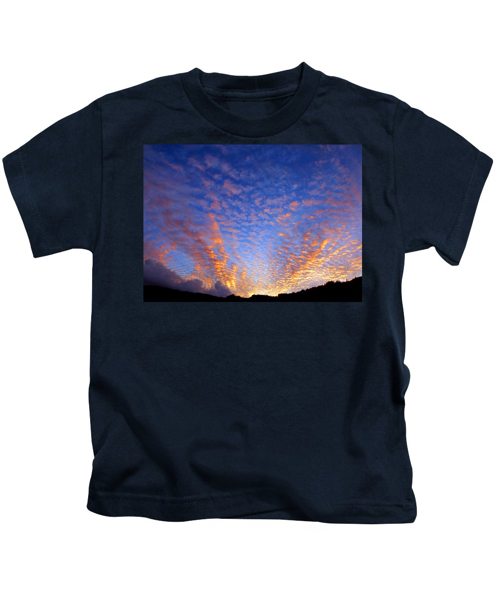 Hawaii Kids T-Shirt featuring the photograph Manoa Valley Sunrise by Kevin Smith