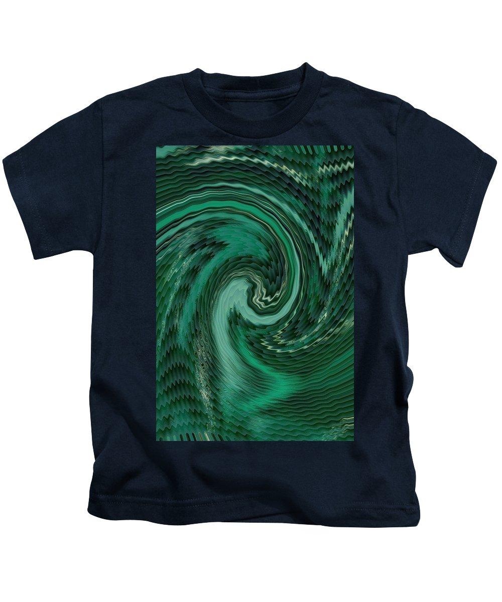 Announcement Kids T-Shirt featuring the photograph Mayhems Of The Seas V B by Gert J Rheeders