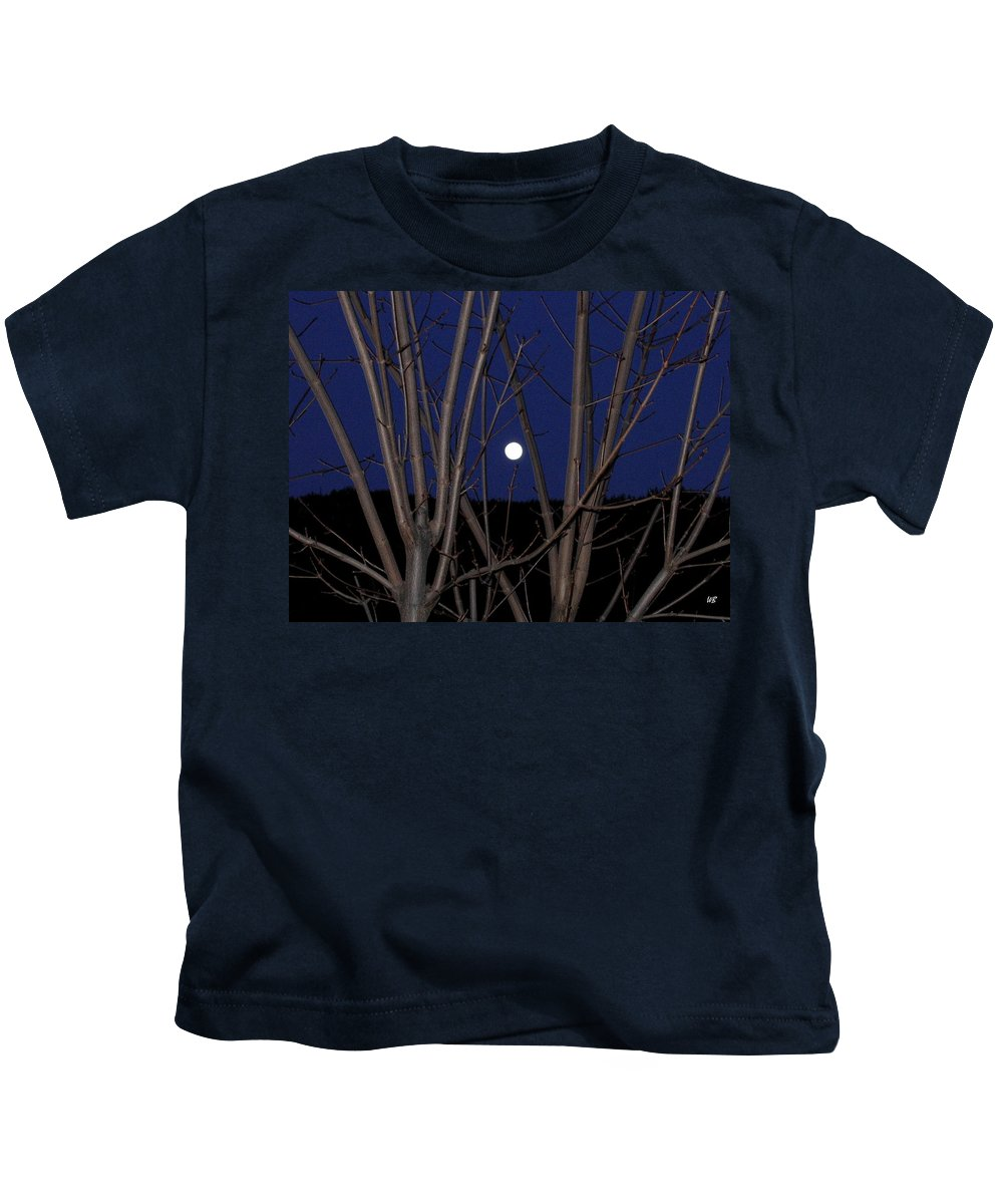 Moon Kids T-Shirt featuring the photograph Moonrise by Will Borden
