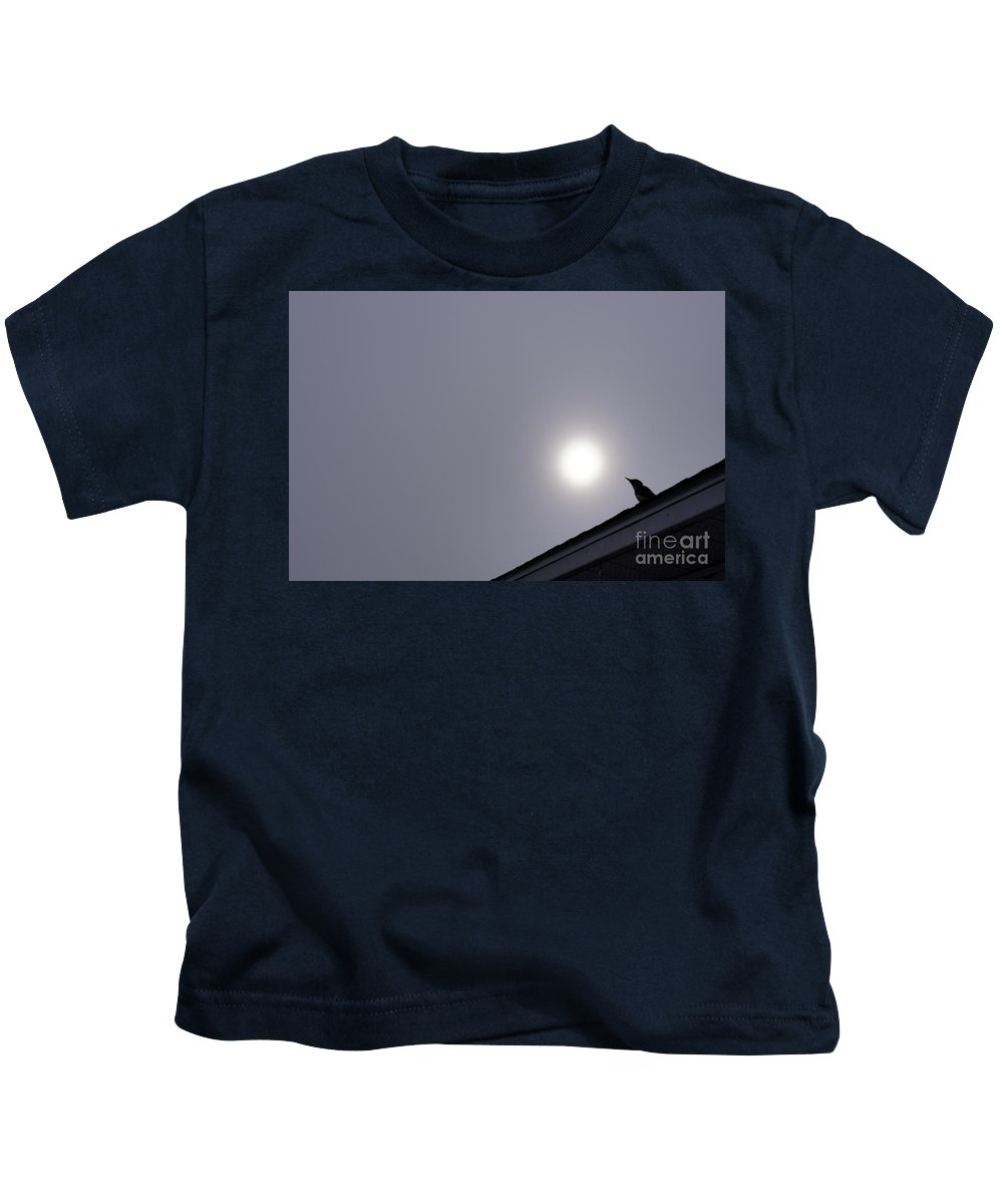 Art Kids T-Shirt featuring the photograph My Neighbour by Line Gagne