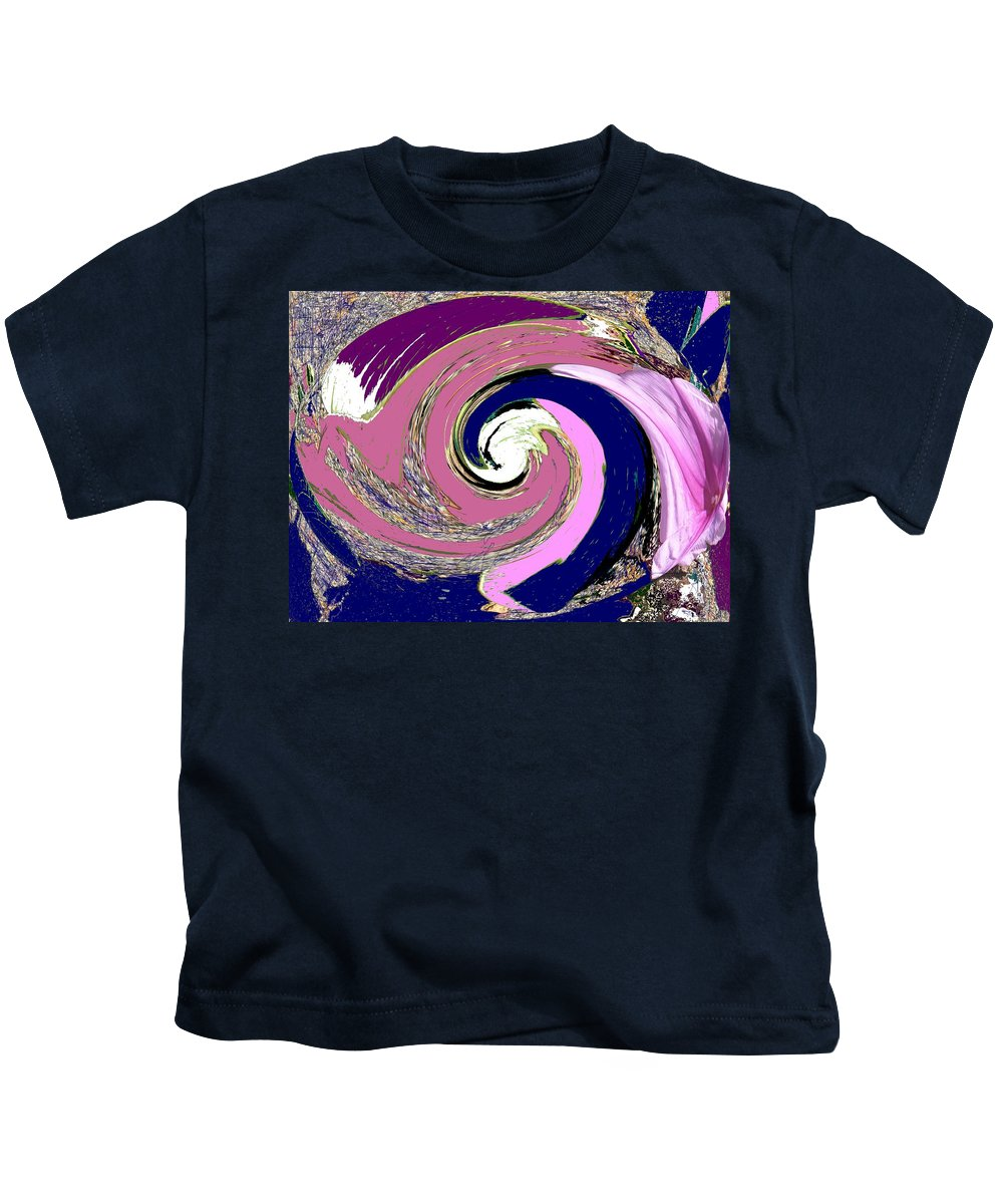 Abstract Kids T-Shirt featuring the photograph Mystic by Ian MacDonald