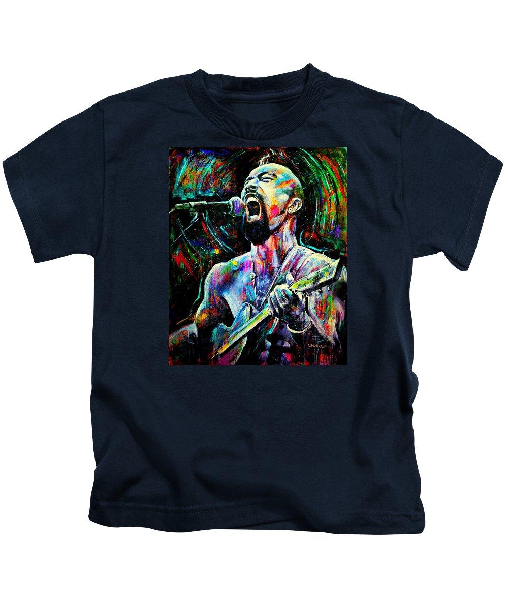 Nahko Bear Paintings Kids T-Shirts