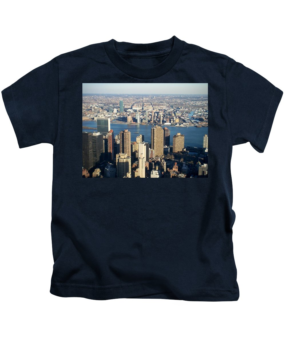 Nyc Kids T-Shirt featuring the photograph Nyc 6 by Anita Burgermeister